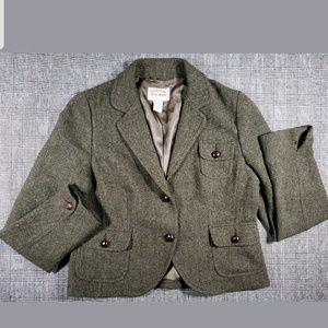 Ralph Lauren Polo Tweed Blazer womens sz XL